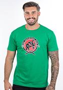 náhled - Slušnej oddíl zelené pánské tričko