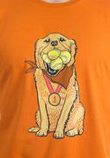 náhled - Zlatý retrívr pánské tričko