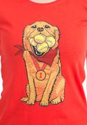náhled - Zlatý retrívr dámské tričko