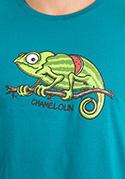 náhled - Chameloun modré pánské tričko