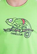 náhled - Chameloun zelené pánské tričko – nový střih