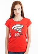 náhled - Padá wi-fi dámské tričko