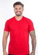náhled - Pánské tričko červené – nový střih