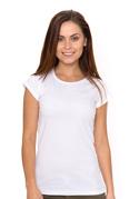 náhled - Dámské tričko klasické bílé