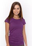 náhled - Dámské tričko klasické fialové