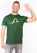 náhled - High Five zelené pánské tričko – nový střih