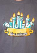 náhled - Svíčková pánské tričko – nový střih