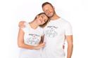 náhled - Miluju tulení bílé pánské tričko