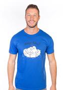 náhled - Miluju tulení modré pánské tričko