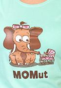 náhled - Momut zelené dámské tričko