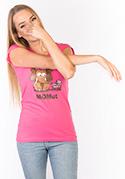 náhled - Momut fuchsiové dámské tričko