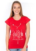 náhled - Škola uzlování dámské tričko