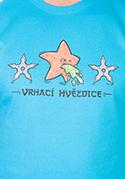 náhled - Vrhací hvězdice pánské tričko