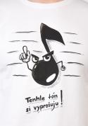 náhled - Tón bílé pánské tričko