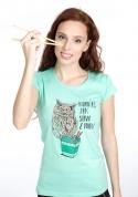 náhled - Sůva z nudlí dámské tričko