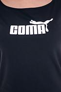 náhled - Coma černé dámské tričko lodičkové