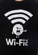 náhled - Wifič pánské tričko – nový střih