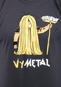 náhled - Metalista tmavě šedé pánské tričko
