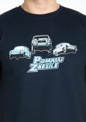 náhled - Pomalu ale zběsile modré pánské tričko