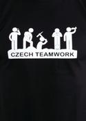 náhled - Czech Teamwork černé pánské tričko