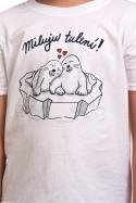 náhled - Miluju tulení dětské tričko