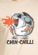 náhled - Chinchilli hnědé pánské tričko