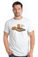 náhled - Krabičková dieta bílé pánské tričko