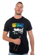 náhled - Tříděný odpad černé pánské tričko