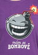 náhled - Mám se bombově dámské tričko