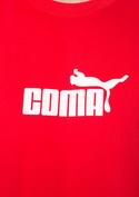 náhled - Coma červené pánské tričko