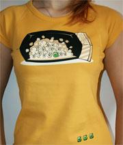 náhled - Hrášek dámské tričko