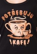 náhled - Potřebuju kafe dámské tílko