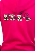 náhled - Opice dámská mikina – záda