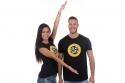 náhled - Drž úhel černé pánské tričko