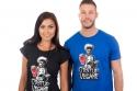 náhled - Odstup vegane černé dámské tričko