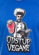 náhled - Odstup vegane modré pánské tričko