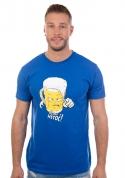 náhled - Netoč mě modré pánské tričko