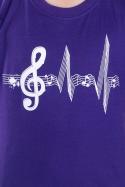 náhled - Žiju muzikou dětské tričko