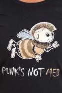 náhled - Punk's Not Med dámské tričko