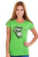 náhled - Popelnice dámské tričko
