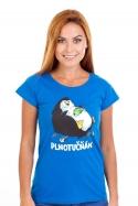 náhled - Plnotučňák dámské tričko