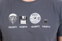 náhled - Trilobite šedé pánské tričko
