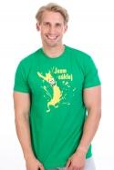 náhled - Cáklej zelené pánské tričko