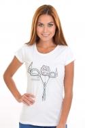 náhled - Vyrýsovanej dámské tričko