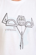 náhled - Vyrýsovanej pánské tričko