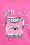 náhled - Vážím si tě dámské tričko