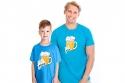 náhled - Malý pívo modré dětské tričko