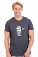 náhled - Potřebuju rozptýlit šedé pánské tričko