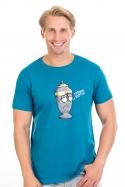 náhled - Potřebuju rozptýlit modré pánské tričko