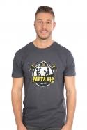náhled - Parta hic šedé pánské tričko